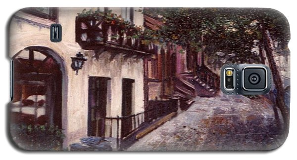 street in the Village NYC Galaxy S5 Case