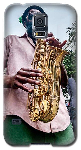 Street Jazz On Display Galaxy S5 Case