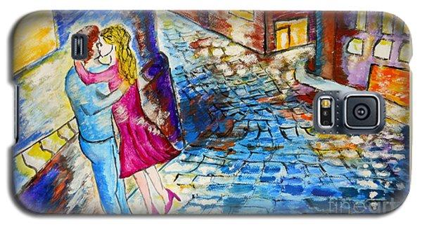 Street Kiss By Night  Galaxy S5 Case