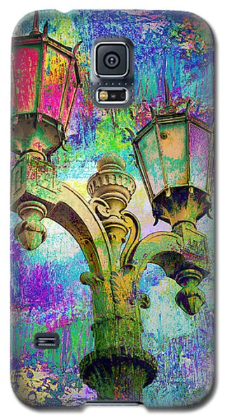 Street Lamp Rainbows Galaxy S5 Case