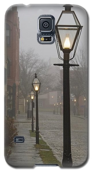 Street Lamps On Johnny Cake Hill Galaxy S5 Case