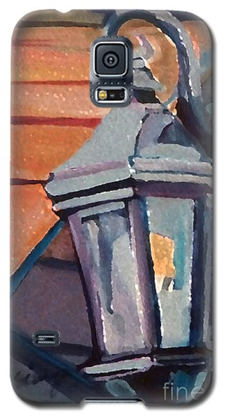 Street Lantern Galaxy S5 Case by Ecinja Art Works