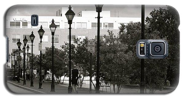 Street Lights Galaxy S5 Case by Roseann Errigo