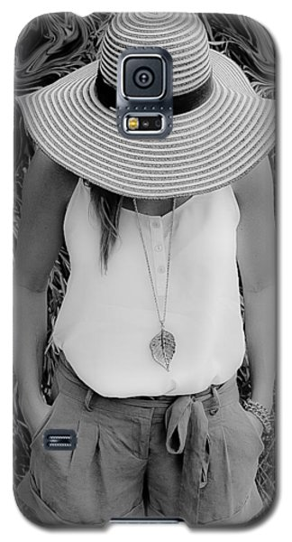 Street Lily Revisted Galaxy S5 Case by Michael Nowotny