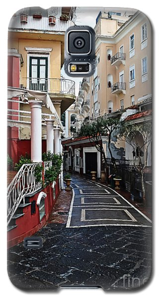 Street Of Capri Galaxy S5 Case