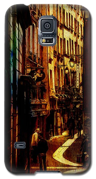 Galaxy S5 Case featuring the photograph Street Of Paris by James Bethanis