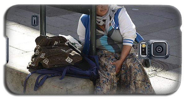 Street People - A Touch Of Humanity 10 Galaxy S5 Case by Teo SITCHET-KANDA