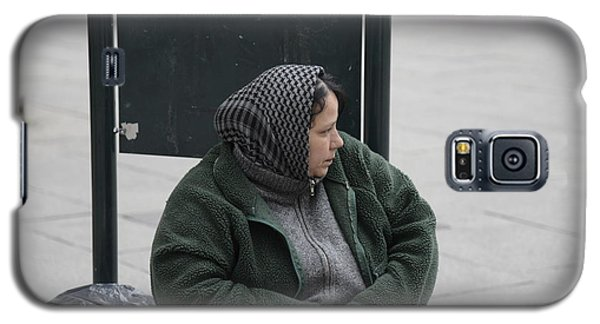 Street People - A Touch Of Humanity 9 Galaxy S5 Case by Teo SITCHET-KANDA