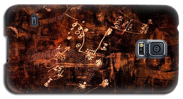 Street Poetry 7 Galaxy S5 Case by Kim Gauge
