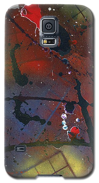 Galaxy S5 Case featuring the painting Street Spirit by Roz Abellera Art