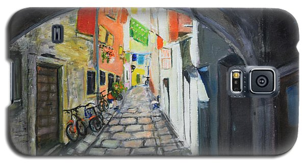 Street View 2 From Pula Galaxy S5 Case
