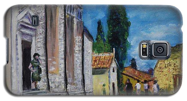 Street View In Rovinj Galaxy S5 Case