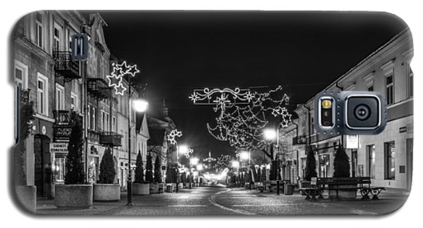 Streets Before Christmas Galaxy S5 Case