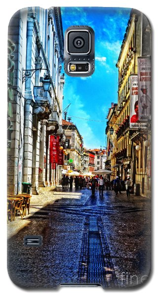 Streets Of Lisbon 1 Galaxy S5 Case