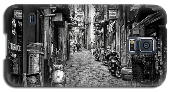 Streets Of Naples Galaxy S5 Case