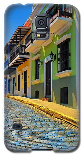 Streets Of Old San Juan Galaxy S5 Case