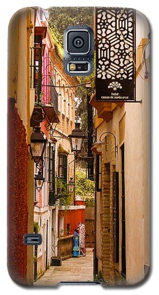 Streets Of Seville  Galaxy S5 Case by Andrea Mazzocchetti