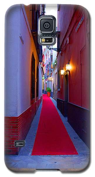 Streets Of Seville - Red Carpet  Galaxy S5 Case