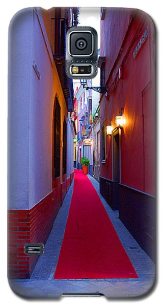 Streets Of Seville - Red Carpet  Galaxy S5 Case by Andrea Mazzocchetti