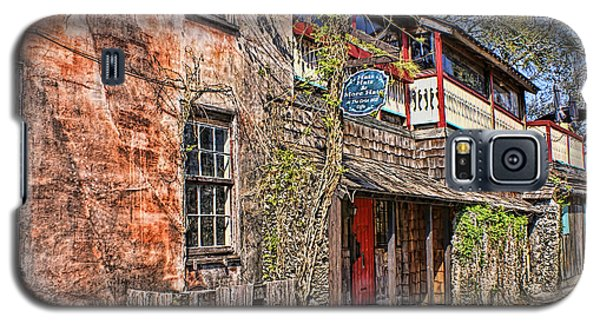 Galaxy S5 Case featuring the photograph Streets Of St Augustine Florida by Olga Hamilton