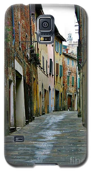 Streetscape Tuscany Galaxy S5 Case by Henry Kowalski