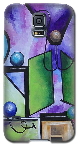 Galaxy S5 Case featuring the painting Strength II by Nereida Rodriguez
