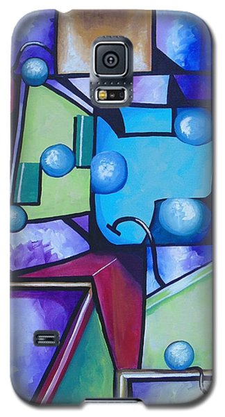 Galaxy S5 Case featuring the painting Strength by Nereida Rodriguez