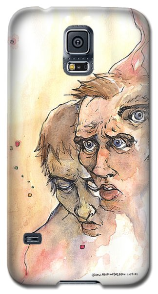 Stress Anxiety Depression Galaxy S5 Case