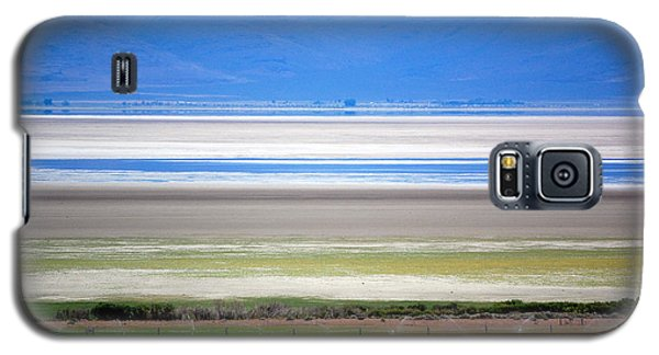 Galaxy S5 Case featuring the photograph Striations At Honey Lake by AJ  Schibig