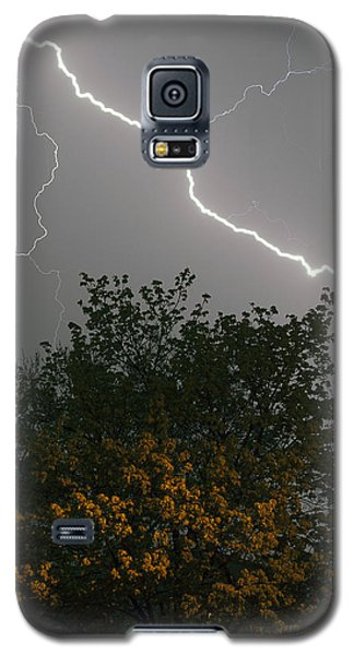 Galaxy S5 Case featuring the photograph Strike by Timothy McIntyre