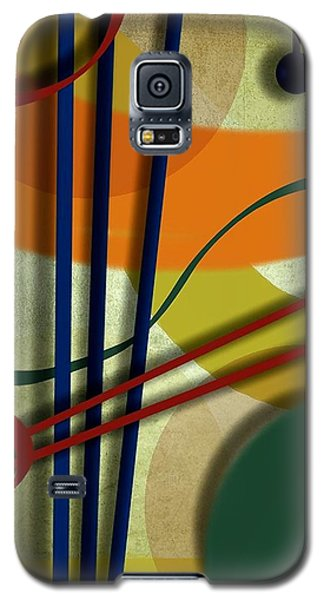 Abstract Strings Galaxy S5 Case