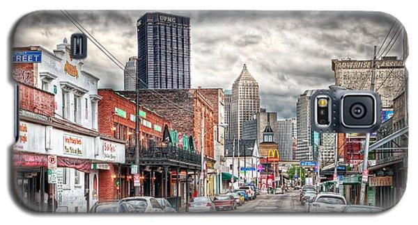 Strip District Pittsburgh Galaxy S5 Case