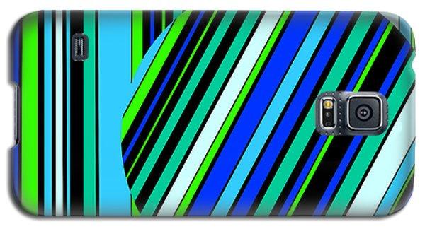 Striped Circle  C2014 Galaxy S5 Case