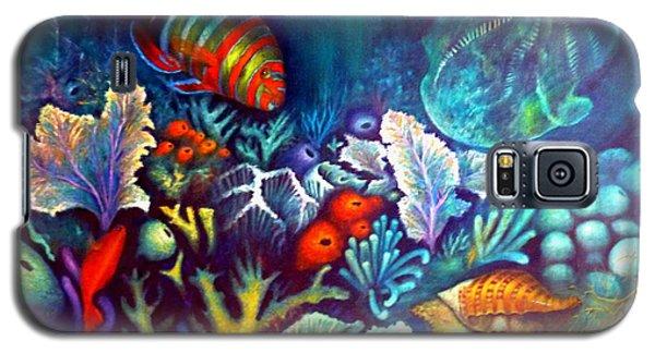 Striped Fish Galaxy S5 Case