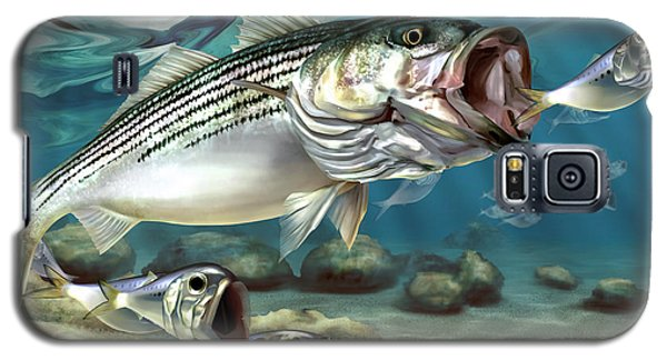 Striper - The True Monster Of Montauk Galaxy S5 Case