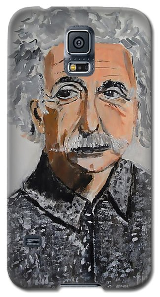 Galaxy S5 Case featuring the painting Stroke Of Genius by Judy Kay
