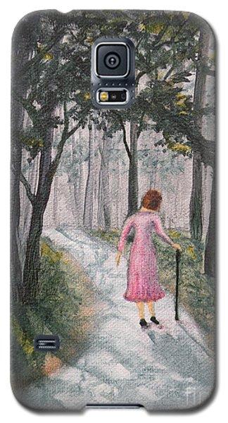 Strolling Down Memory Lane Galaxy S5 Case