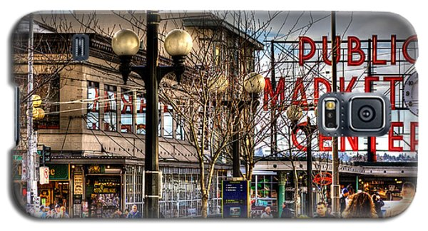 Strolling Towards The Market - Seattle Washington Galaxy S5 Case