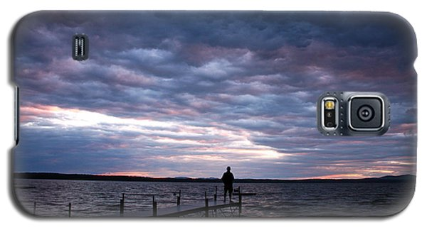 Strom Watch Sebago Lake Galaxy S5 Case by Butch Lombardi
