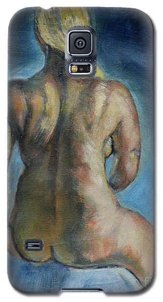 Strong Blond's Back Galaxy S5 Case