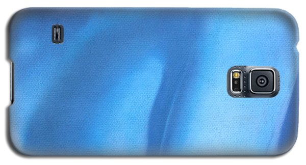 Study In Blue Galaxy S5 Case by Neil Kinsey Fagan