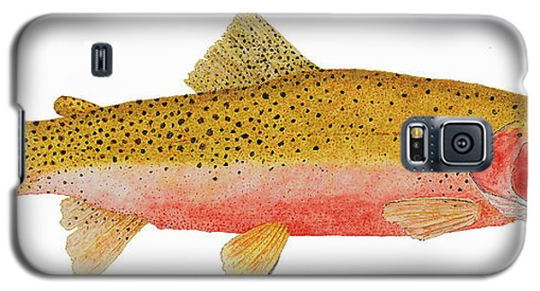 Study Of A Westslope Cutthroat Trout Galaxy S5 Case