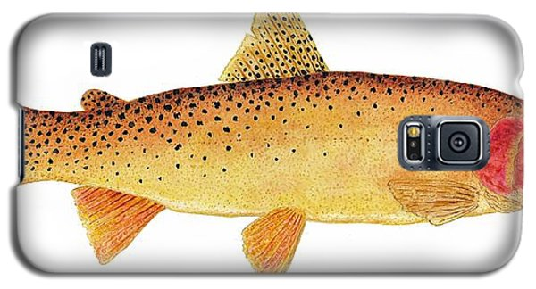 Study Of A Yellowstone Cutthroat Trout Galaxy S5 Case