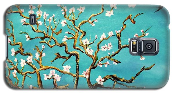 Study Of Almond Branches By Van Gogh Galaxy S5 Case