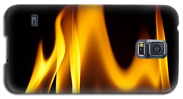 Study Of Flames I Galaxy S5 Case by Patrick Boening