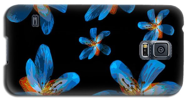 Study Of Seven Flowers #2 Galaxy S5 Case