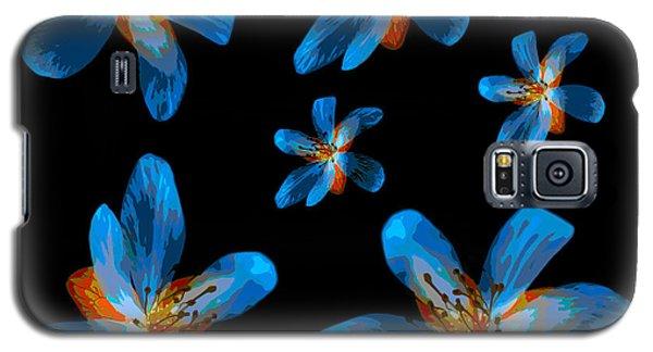 Study Of Seven Flowers #2 Galaxy S5 Case by Ari Salmela