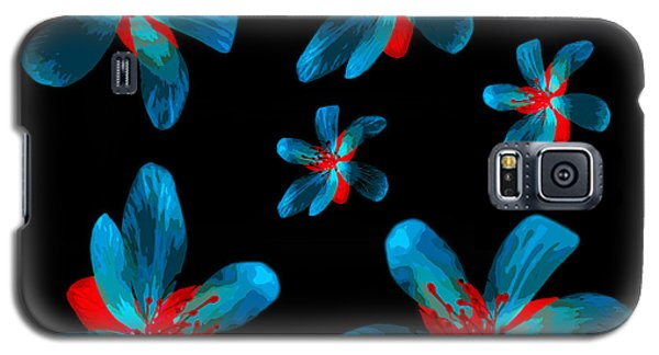 Study Of Seven Flowers #3 Galaxy S5 Case