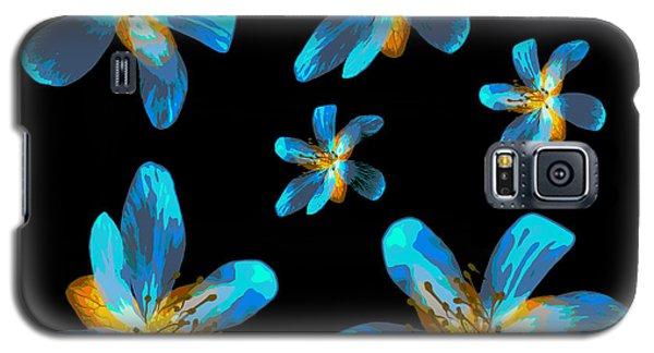 Study Of Seven Flowers #4 Galaxy S5 Case