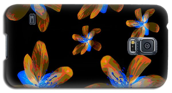 Study Of Seven Flowers #5 Galaxy S5 Case